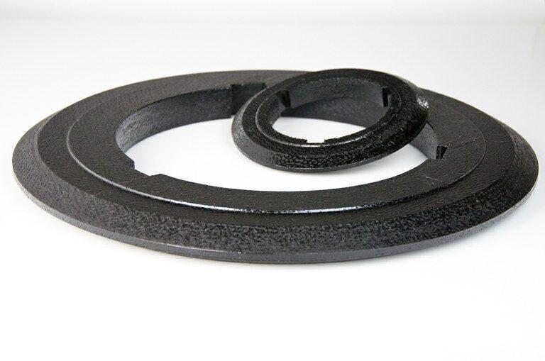 Matériau de friction fritté