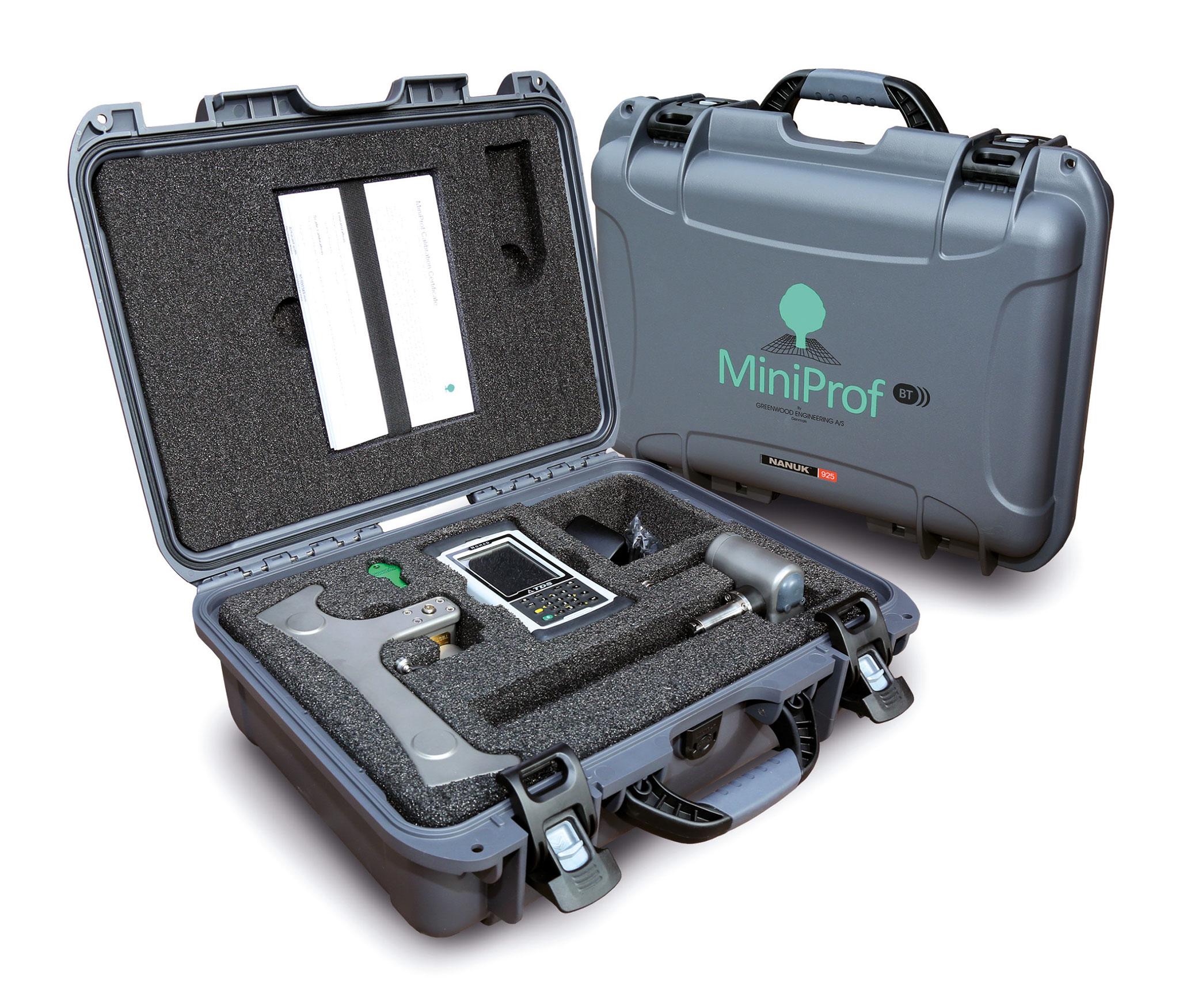 Étalonnage MiniProf BT