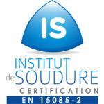 Logo certification EN 15085-2 DIPOSTEL